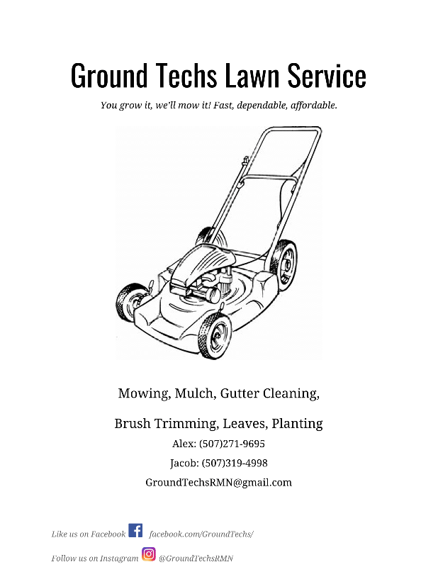 Yard mowing company in Rochester, MN, 55901