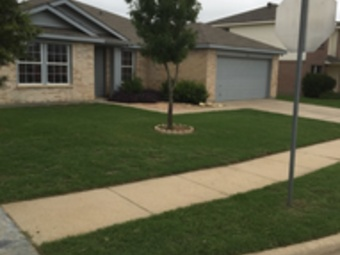 Yard mowing company in Justin, TX, 76247