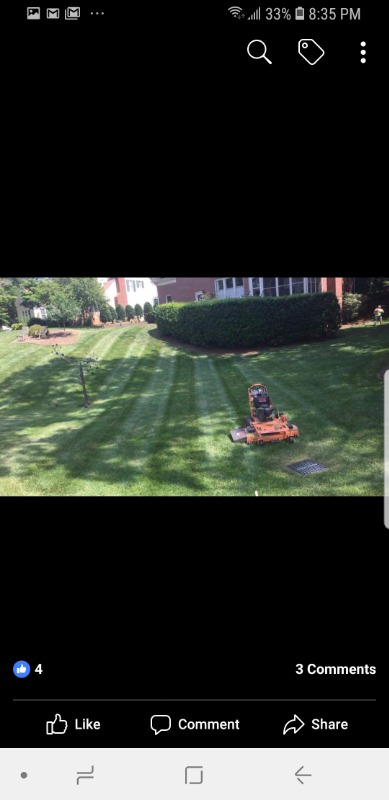 Yard mowing company in Cary, NC, 27519