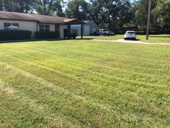 Yard mowing company in Mulberry, FL, 33860