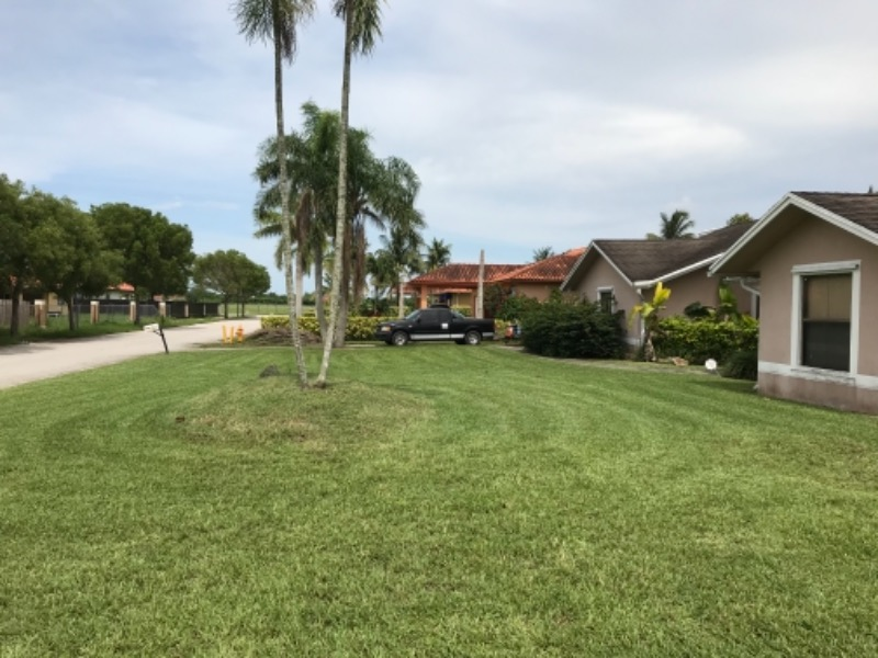 Yard mowing company in Miami, FL, 33157