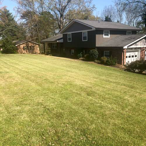 Yard mowing company in Chattanooga, TN, 37416