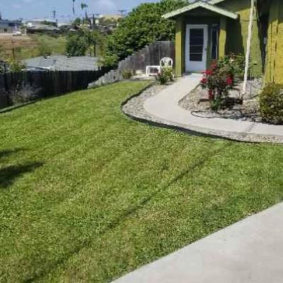 Yard mowing company in San Diego, CA, 92154