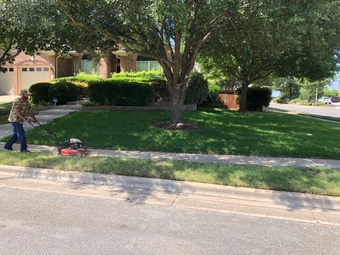 Yard mowing company in Manor, TX, 78653