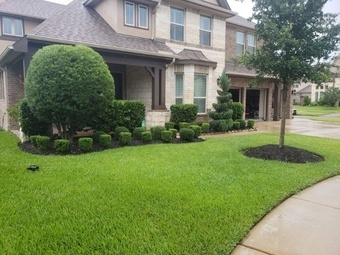 Yard mowing company in Dickinson, TX, 77573