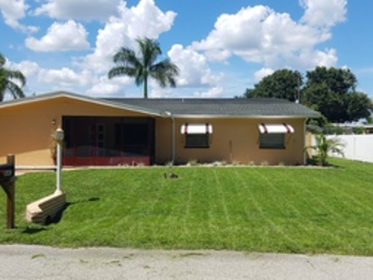 Yard mowing company in North Fort Myers, FL, 33917