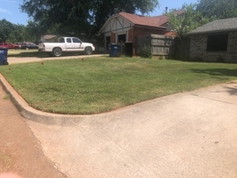 Yard mowing company in Noble, OK, 73068