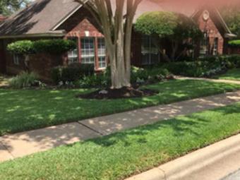 Yard mowing company in Austin, TX, 78739
