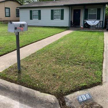 Yard mowing company in Fort Worth, TX, 76134