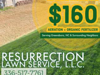 Yard mowing company in Mc Leansville, NC, 27301