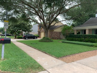 Yard mowing company in Houston, TX, 77075