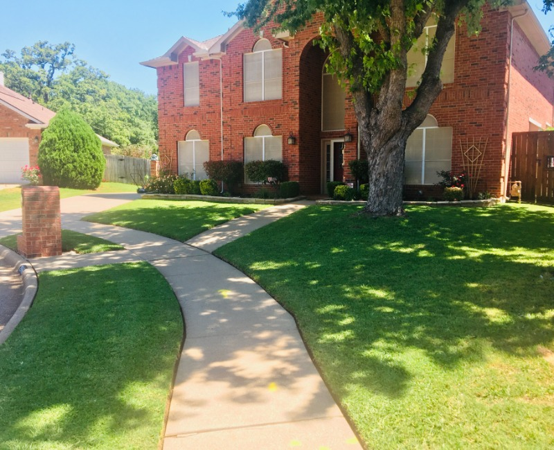 Yard mowing company in Flower Mound, TX, 75028