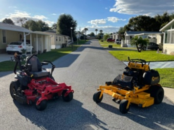 Yard mowing company in Summerfield, FL, 34491