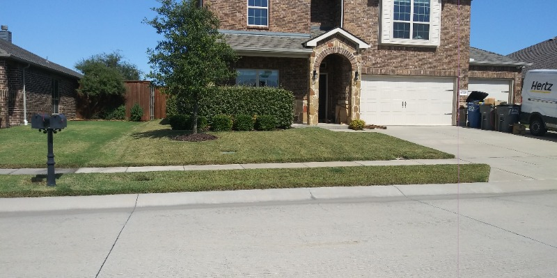 Yard mowing company in The Colony, TX, 75036