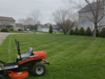 Yard mowing company in Middlebury, IN, 46552