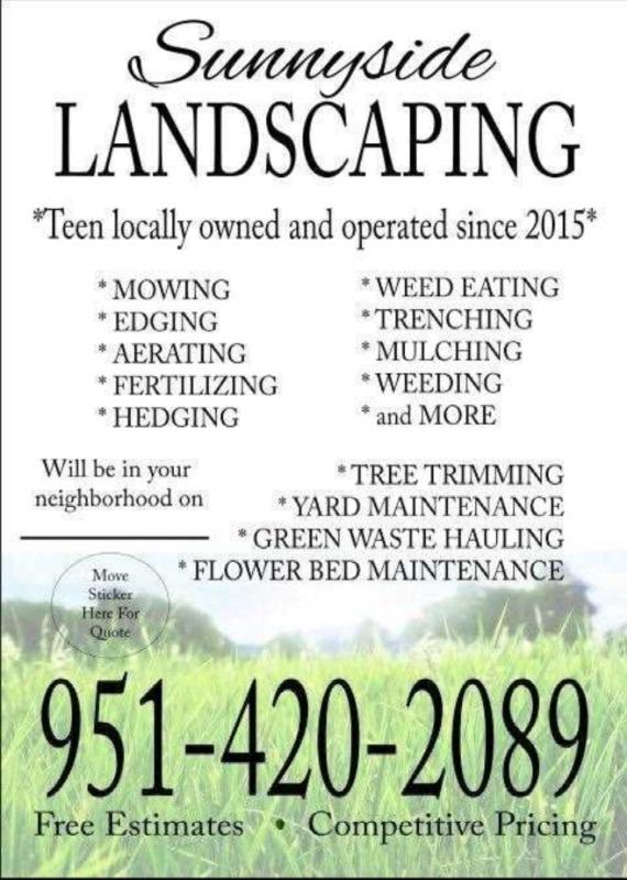 Lawn Care Service in Nuevo, CA, 92567