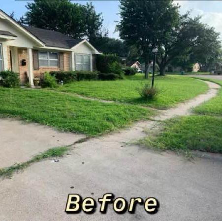 Lawn Care Service in Inez, TX, 77968