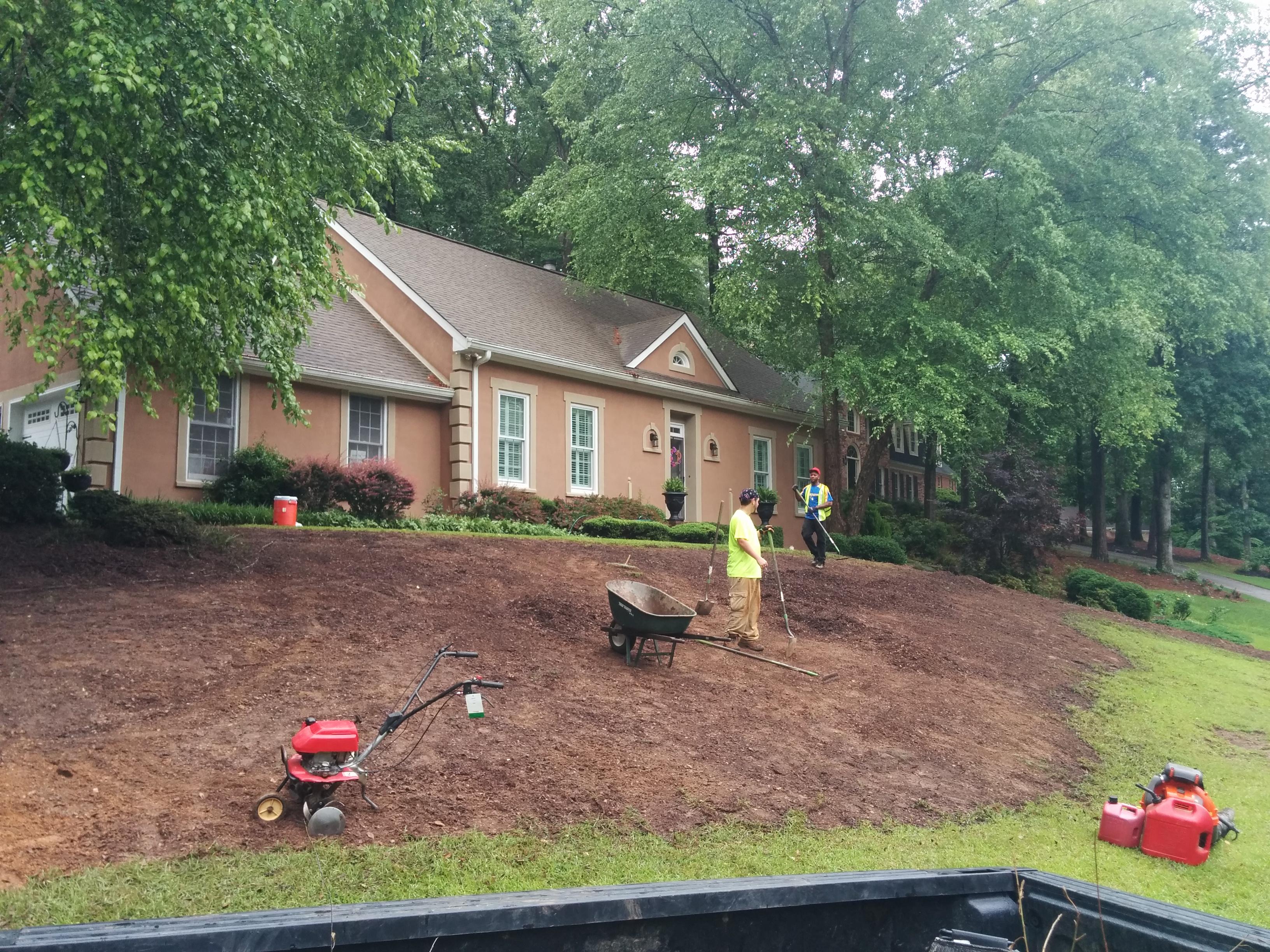 Lawn Mowing Contractor in Marietta, GA, 30062