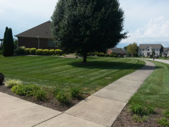 Lawn Mowing Contractor in Greenwood, IN, 46142