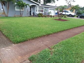 Lawn Mowing Contractor in St. Petersburg, FL, 33712