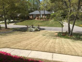 Lawn Mowing Contractor in Birmingham, AL, 35244