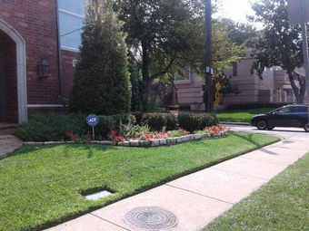 Lawn Mowing Contractor in Garland, TX, 75040