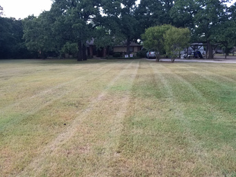Lawn Mowing Contractor in Shady Shores, TX, 76208