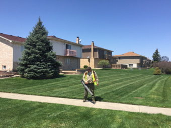Lawn Mowing Contractor in Posen, IL, 60469