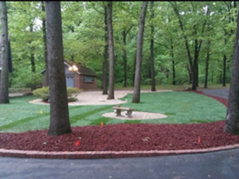Lawn Mowing Contractor in Sand Springs, OK, 74063