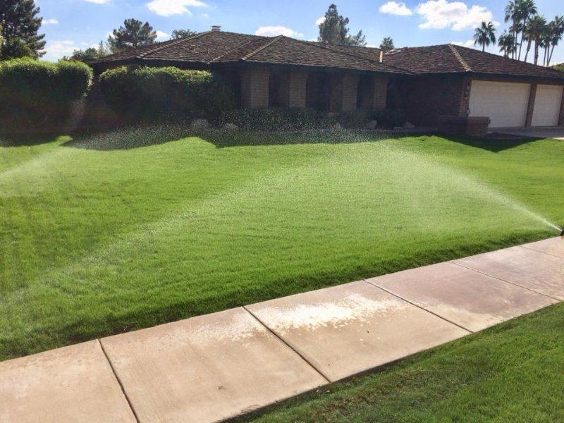 Lawn Mowing Contractor in Chandler, AZ, 85226