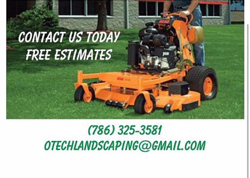 Lawn Mowing Contractor in Pembroke Pines, FL, 33029