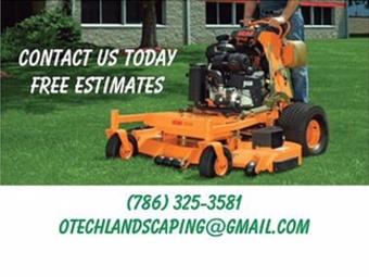 Lawn Mowing Contractor in Pembroke Pines, FL, 33027