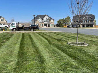 Lawn Mowing Contractor in Durham, NC, 27516