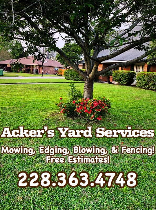 Lawn Mowing Contractor in Waveland, MS, 39576