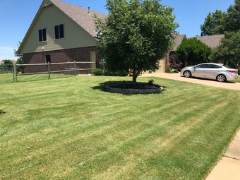 Lawn Mowing Contractor in Tulsa, OK, 74133