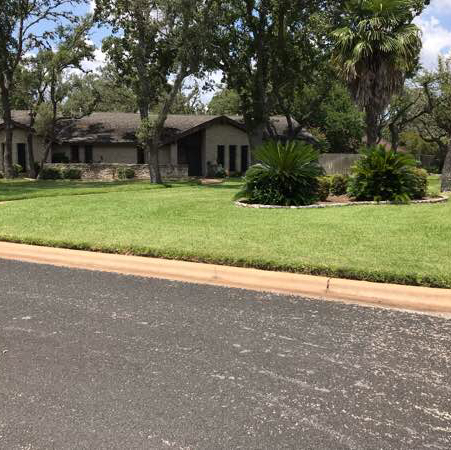 Lawn Mowing Contractor in Austin, TX, 78739