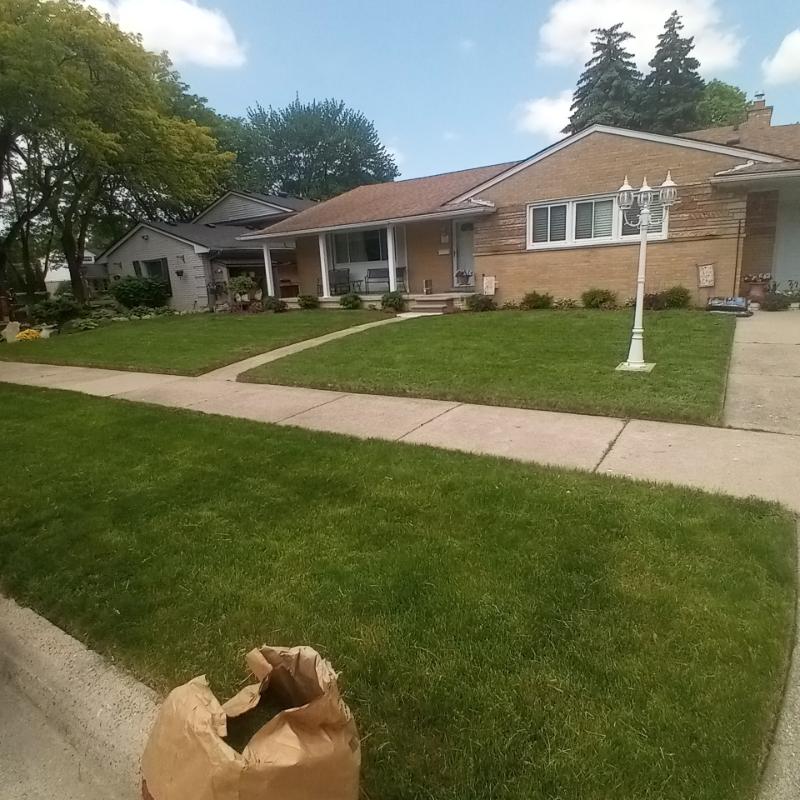 Lawn Mowing Contractor in Detroit, MI, 48221