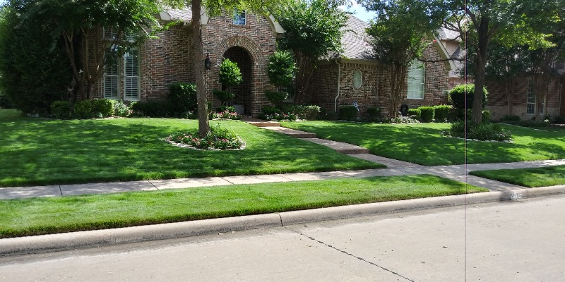 Lawn Mowing Contractor in The Colony, TX, 75036
