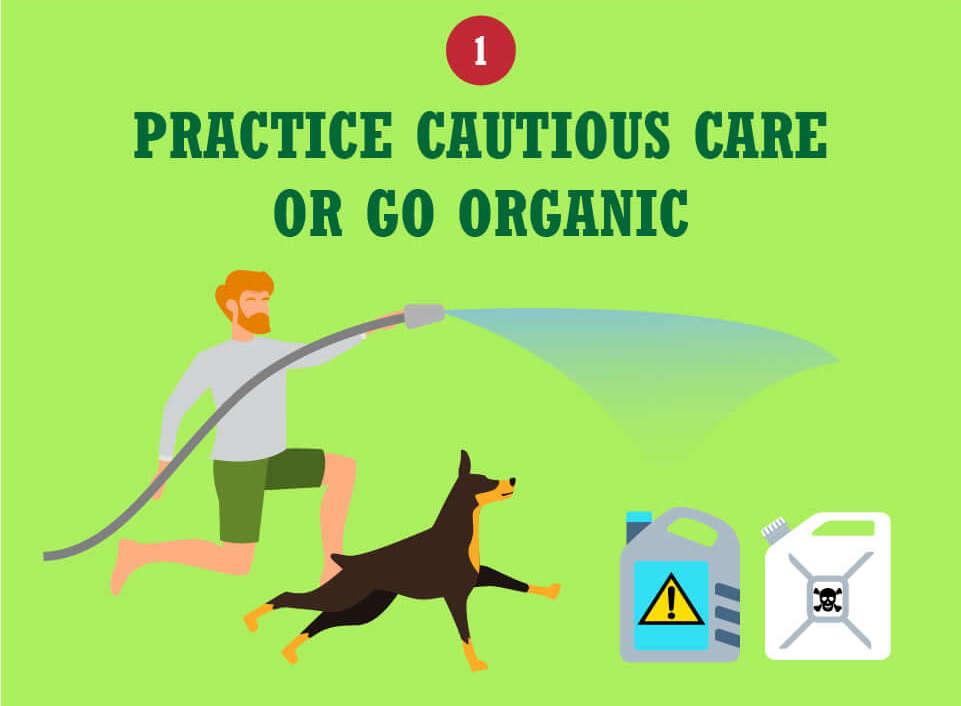 Practice Cautious Care or Go Organic