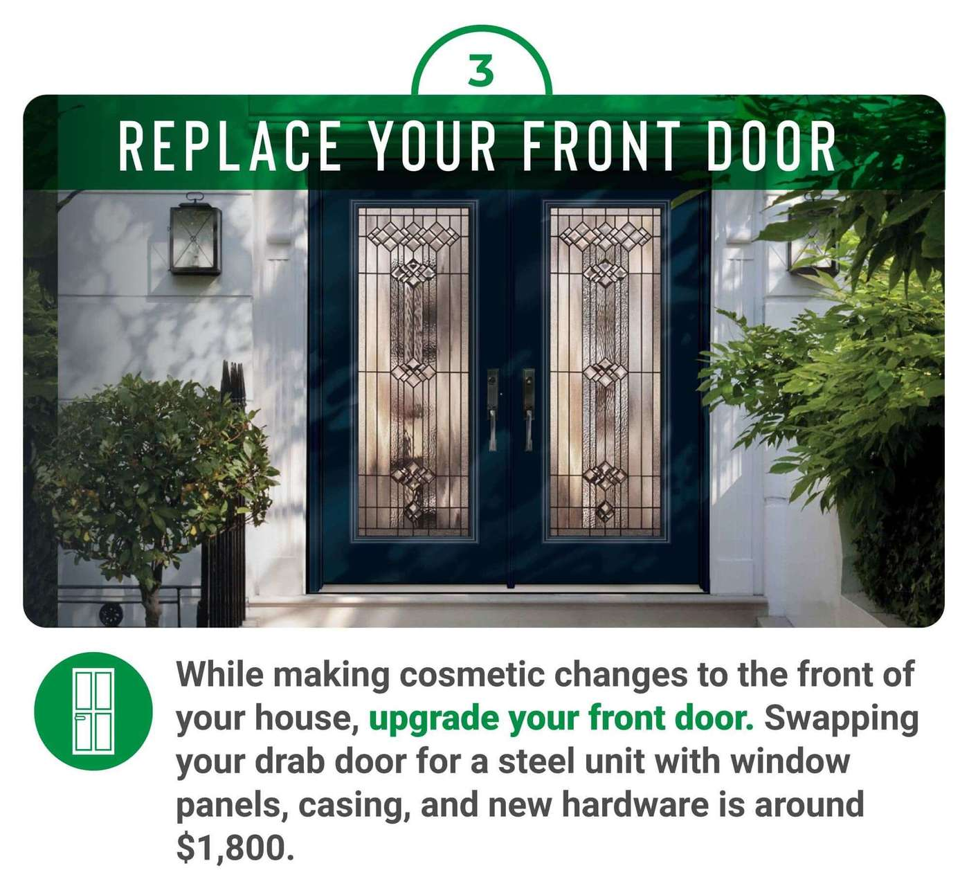 Replace yoru front door