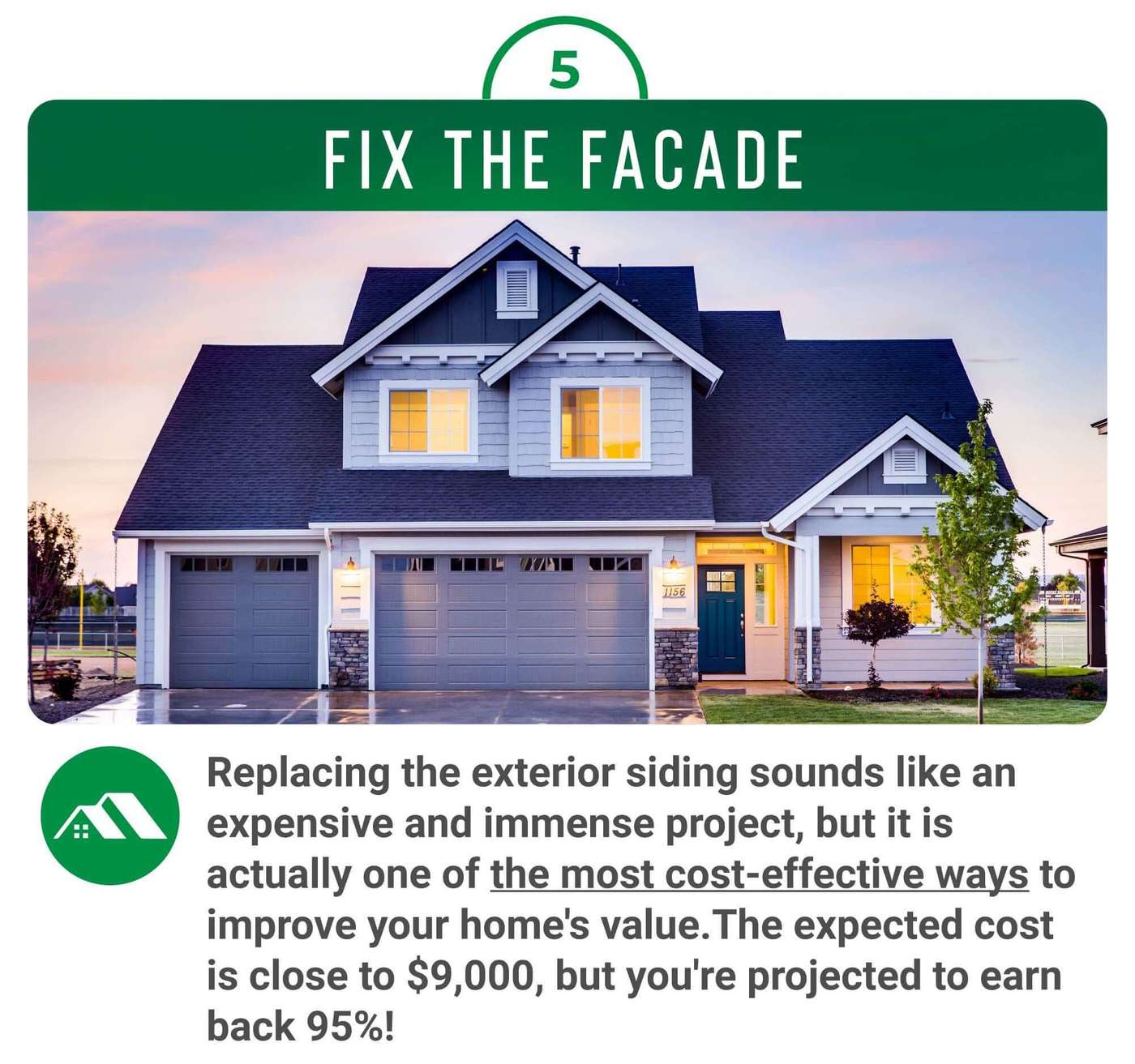 Replace your homes siding