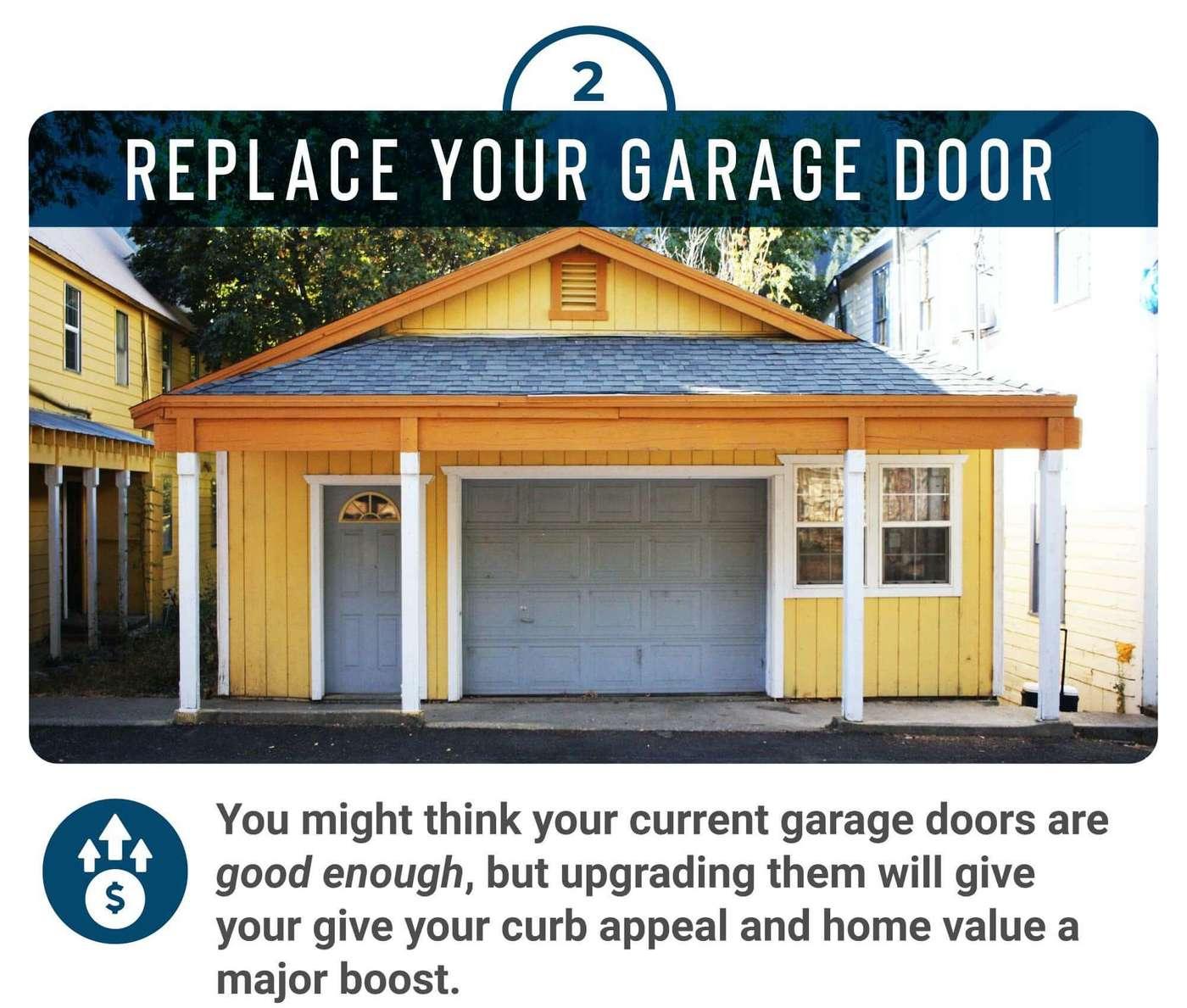 Garage door home improvment