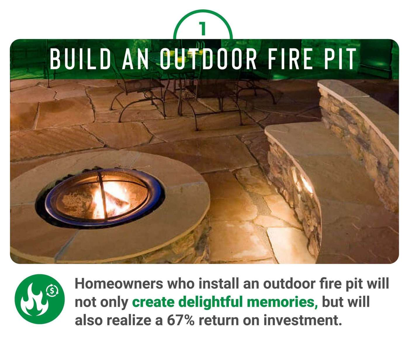 Build an outdoor fire pit