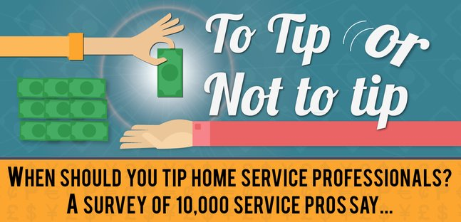How Much Should You Tip Home Service Professionals