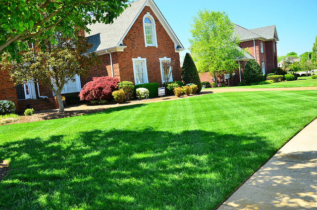 Landscaping can help sell a home