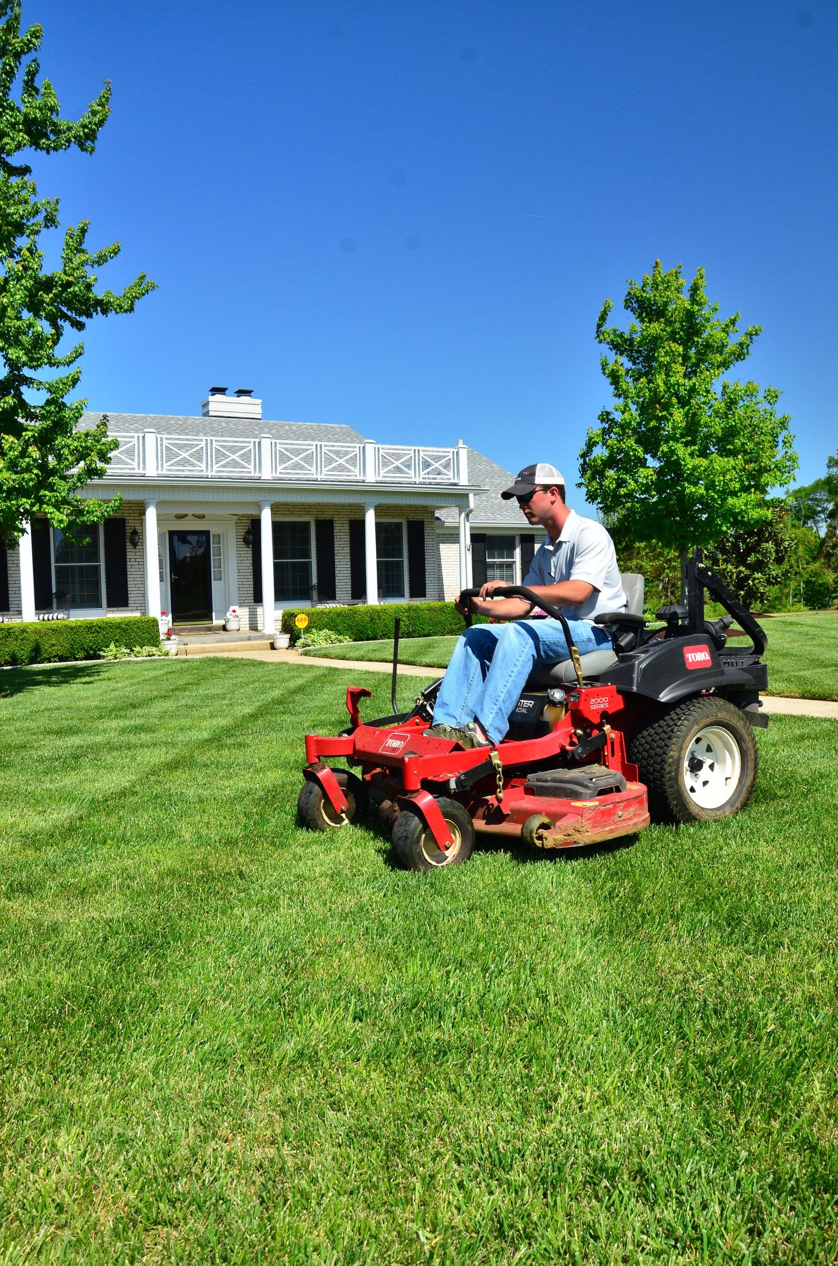 Unique Starting A Lawn Care Business