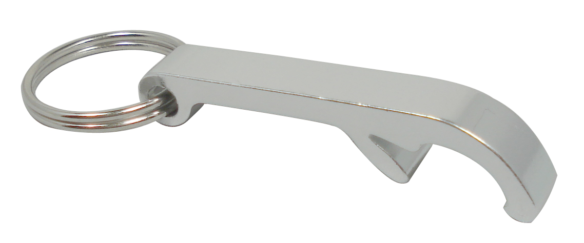key chain new aluminum beer bottle opener small silver ebay. Black Bedroom Furniture Sets. Home Design Ideas