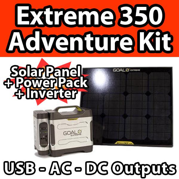 Goal0 Goal Zero Extreme 350 Adventure Kit Solar Panel
