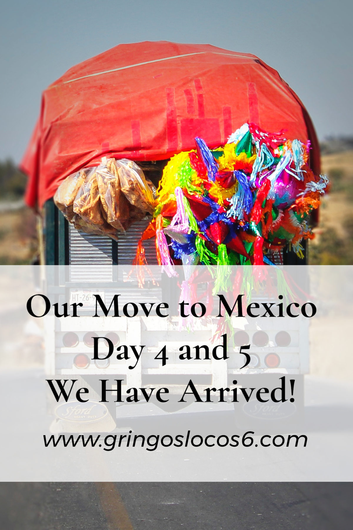 Yesterday was a long day. We left Texas at 3 am and got to our destination in Mexico at 9 pm. This is the still the beginning of our move to Mexico.