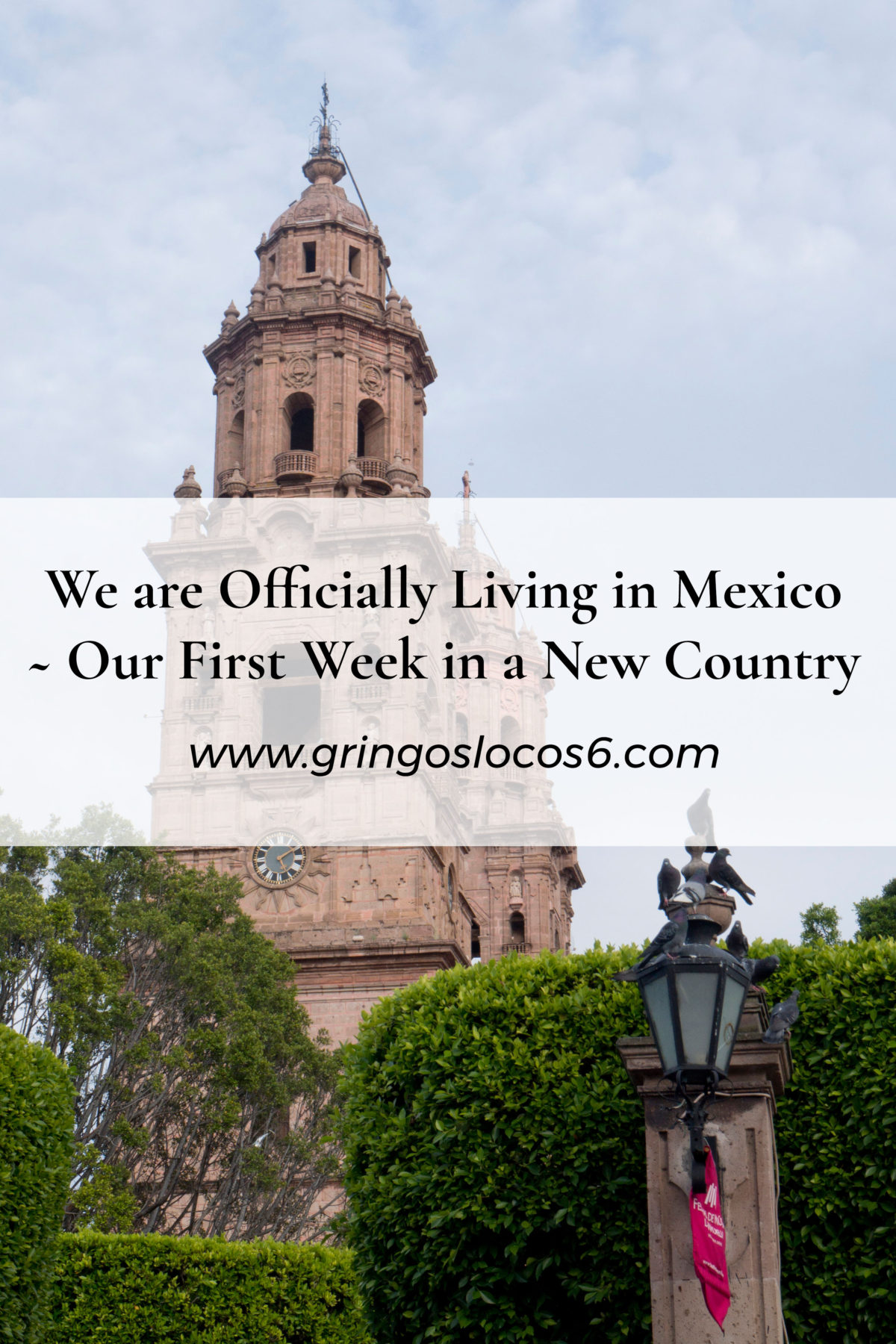 We are officially living in Mexico! Our Internet is hooked up and I found a chiropractor! Whoo hoo! Read a little bit about moving to Mexico here :-)